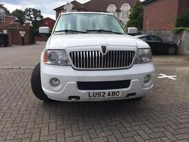 Lincoln Navigator 2003 5.4 automatic LPG gas 24 alloys -no time wasters please!