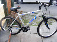 "MANS 20"" ALUMINIUM FRAME BIKE IN GREAT WORKING ORDER NO RUST"