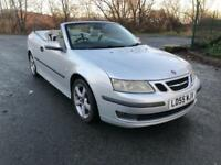 55 REG SAAB 9-3 2.0 T AERO 2DR-FULL LEATHER-FULL MOT-GREAT CONVERTIBLE AUTOMATIC READY FOR SUMMER