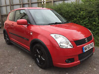 Suzuki Swift 1.5 GLX - 2006, 8 Services, 12 MONTHS MOT, 3 Lady Owners, 58K, Drives Great, £1995