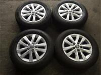 "16"" GENUINE VW T5/T6 ALLOY WHEELS & TYRES"