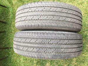 2 Bridgestone V-Steel - LT245/75/16 - 70%+ - $60 For Both