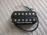 Seymour Duncan Custom 5 SH14 bridge position humbucker pickup in black