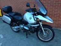 BMW gs 1150 with extras