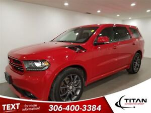 2017 Dodge Durango R/T|7 Pass|AWD|Cam|Nav|Leather|Sunroof