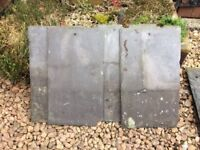 Assorted roof tiles and slates