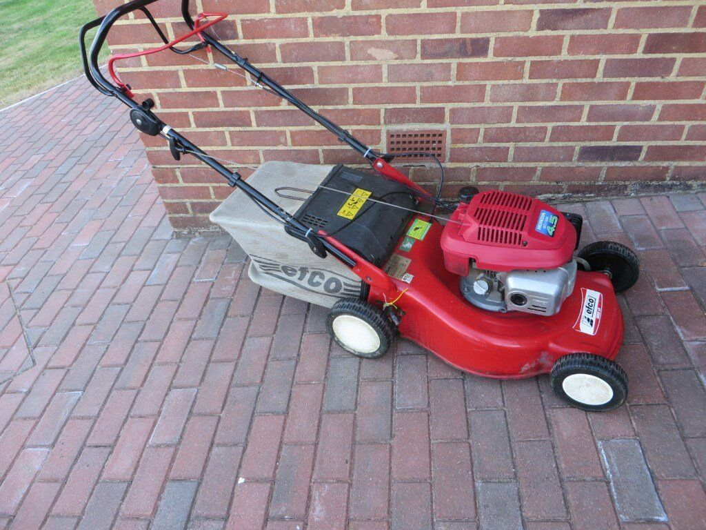 Honda GCV135 4.5 powered Efco LR 48TH Mulch Self Drive Lawn Mower - Just  serviced