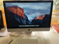 Apple iMac i7, 12GB RAM, 2TB Storage, with wireless Keyboard & Mouse