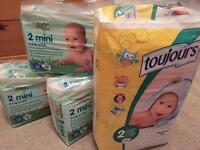 140 Size 2 Nappies