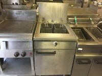 GAS FRYER FISH CHICKEN RESTAURANT TAKE AWAY KEBAB BBQ CATERING COMMERCIAL KITCHEN SHOP