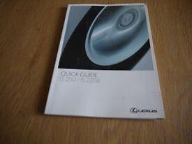 lexus owners manual