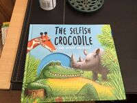 the selfish crocodile, kids thick story book for sale in Cardiff