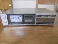 SONY TC-FX33 hi-fi stereo cassette deck - 2 new belts fitted