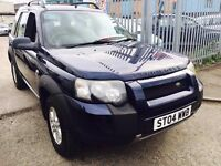 LAND ROVER FREELANDER 1.8 PETROL MANUAL 2004 FACELIFT LOW MILEAGE 74 K WARRANTED