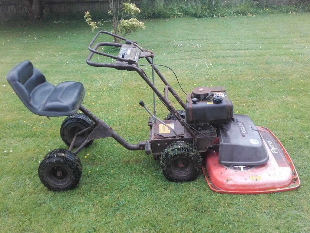 Flymo Ride On Gcl75 Professional Lawnmower In