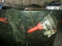 Blue point 12v work light just clips onto battery