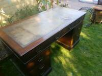 Victorian Pedastal writing desk ( Free Delivery)