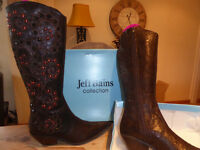 Ladies/womens BNIB - Jeff Bains Boots. size 3
