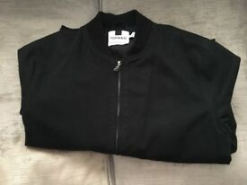 Boys Black Harrington Jacket