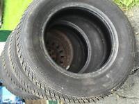 P185/70R14 tires.