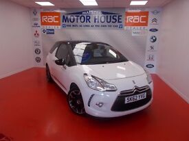 Citroen DS3 E-HDI DSTYLE PLUS (£0.00 ROAD TAX) FREE MOT'S AS LONG AS YOU OWN THE CAR!! 2012