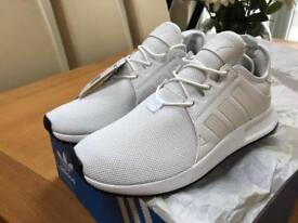 White Adidas trainers, size 7, brand new!!