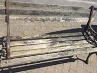 Cast iron bench for sale - FREE DELIVERY