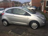 FORD KA STYLE 2009 silver