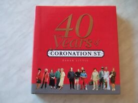 Coronation Street Book - 40 Years of Coronation Street by Daran Little - A Definitive Reference Book