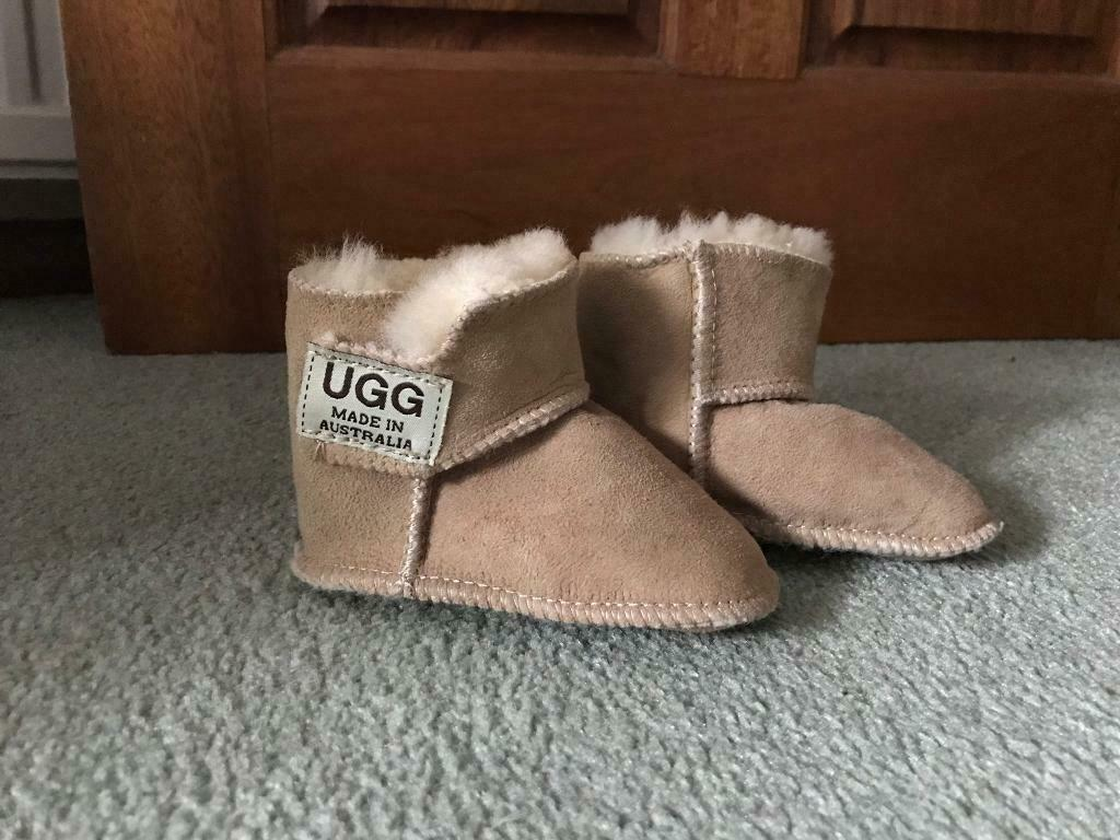 865fdd148bd New baby shoes by UGG Australia size 4 | in Edinburgh City Centre,  Edinburgh | Gumtree