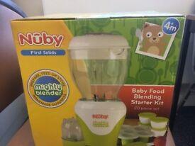 Nuby Baby food Blending Starter Kit