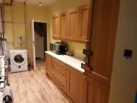 Kitchen units for sale. Oak
