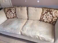 ( FREE Dfs 3 seater sofa good condition need gone A.S.A.P as new sofa arrived day early FREE )