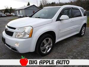 2009 Chevrolet Equinox Sport AWD, Sunroof, Leather