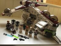 Lego Star Wars Republic Gunship 75021, 100% complete with box