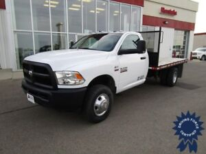 2015 Ram 3500 ST Regular Cab 4X4 w/12' Deck - 15,054 Kms