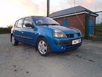 3003 renault megane 1.2 petrol expresion blue 5 dr 8k L/owner f/mot