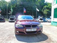 BMW 3 SERIES 320d SE Touring - FDSH + iDRIVE + 1 OWNER (red) 2008