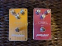 Tomsline guitar pedals - Delay and Overdrive/Distortion