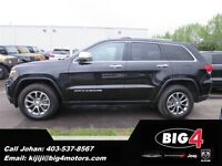 2014 Jeep Grand Cherokee Limited, Fully Loaded, Sunroof, Low KMs