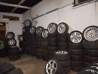 ALLOY WHEELS AUDI BMW CITROEN HONDA FORD VW VAUXHALL MERCEDES REF 12