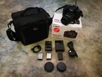 Canon 750d + 18-55mm lens
