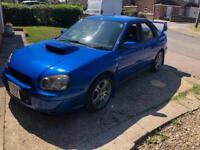 2003 Subaru Impreza WRX ( not standard )