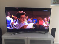 """48"""" H8000 Series 8 Smart 3D Curved Full HD LED TV - Amazing conditions"""