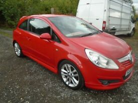 vauxhall corsa 1.3cdti diesel limited edition
