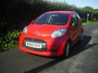 Citroen C1 3 door hatchback, only 38922 miles, full service history, lady owner from new