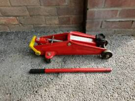 Trolley jack 2 tonnes (red)