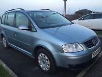 2006 VW touran 1.9 diesel 7 seater family car