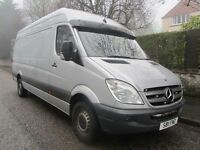 2011 Mercedes Sprinter 313 LWB High Roof - Silver - NO VAT - Finance - P/EX