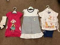 Brand new bundle of baby girl clothes 18-24